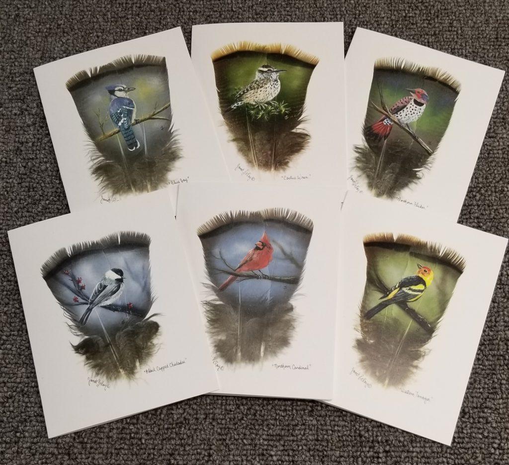 Song Birds NOtecards